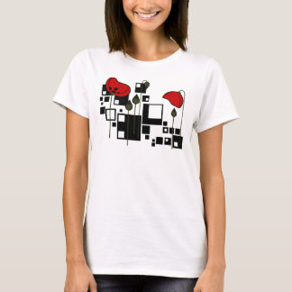 Deco Poppies T-Shirt