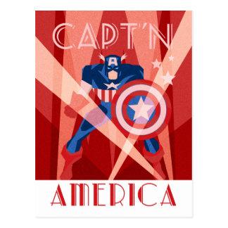 Decodant Captain America Postcard