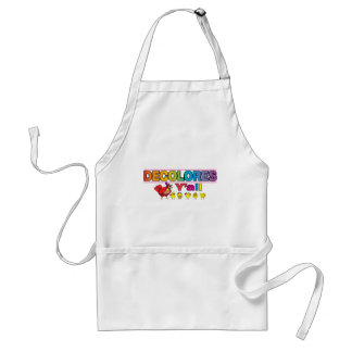 DECOLORES Yall Standard Apron