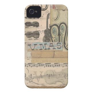 Decopauge Music iPhone 4 Covers