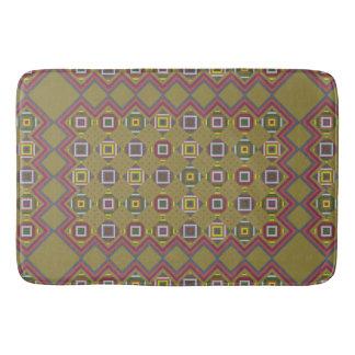 decor,modern,stylish,bathmat,aztec,kilim bath mat