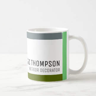 decor professional coffee-mug with color border coffee mug
