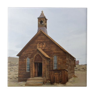 Decor Tile - Church in Ghost Town of Bodie