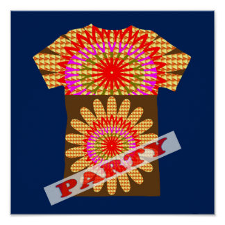 DECORATE Party Room Event - HAPPY Display GIFTS Poster