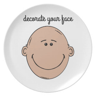 Decorate your face plate