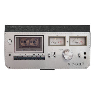 Decorate Your Phone with 1980s Retro Cassette Deck