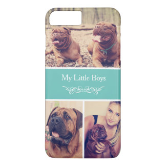 Decorate Your Phone with Cute Pet Photo Collage iPhone 7 Plus Case