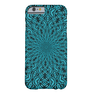 Decorated Blue Vortex Pattern Barely There iPhone 6 Case