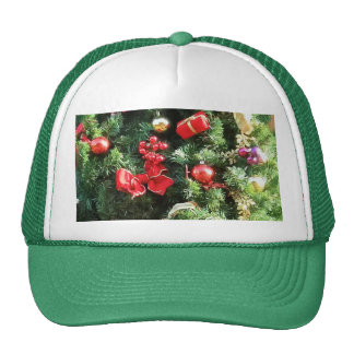 Decorated Christmas Tree Cap