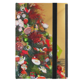 Decorated Christmas Tree iPad Mini Covers