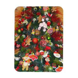 Decorated Christmas Tree Flexible Magnet