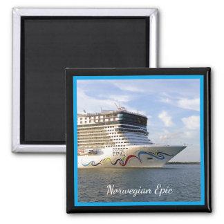 Decorated Cruise Ship Bow Custom Magnet
