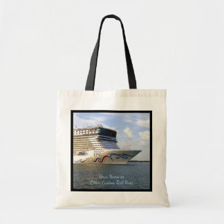 Decorated Cruise Ship Bow Custom Tote Bag