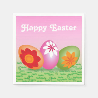 Decorated Easter Eggs Easter Napkins Disposable Napkin