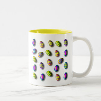 Decorated Easter Eggs Mugs