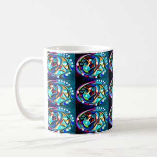 Decorated eggs mugs