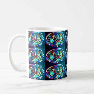 Decorated eggs mugs