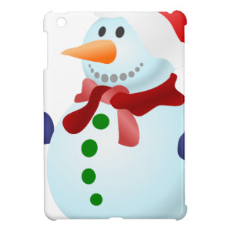 Decorated Snowman Cover For The iPad Mini