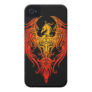 Decorated Tribal Phoenix iPhone 4 Cover