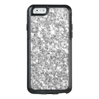 Decoration Grey And White Glitter Texture OtterBox iPhone 6/6s Case
