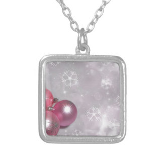 decoration silver plated necklace