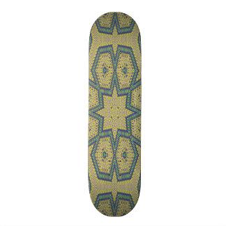 Decorative abstract art skate deck
