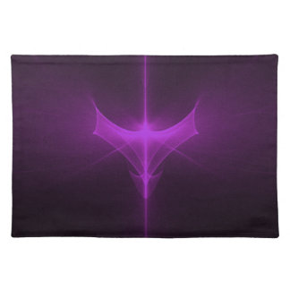 Decorative abstract background glowing placemat