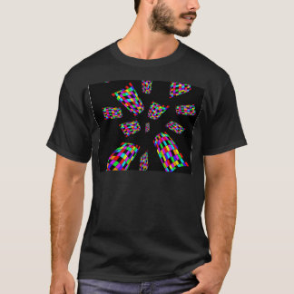 decorative abstract cubes T-Shirt