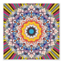 Decorative Abstract Design Poster