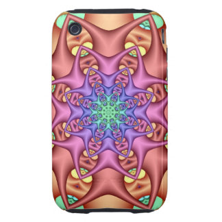 Decorative abstract iPhone 3G/3GS Case-Mate Tough™ iPhone 3 Tough Case