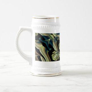 Decorative Abstract Mug