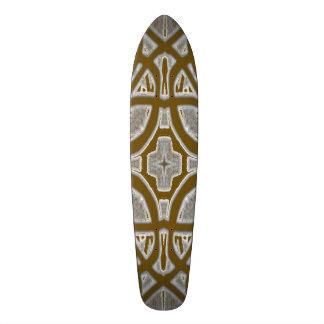 Decorative abstract pattern skateboard deck