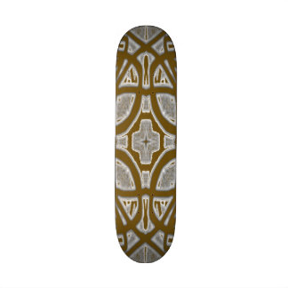 Decorative abstract pattern skate board
