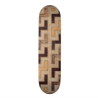 Decorative African Mudcloth Pattern Skate Board Deck