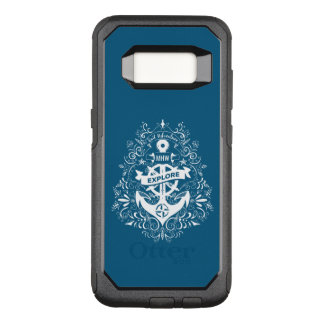 Decorative Anchor custom monogram phone cases