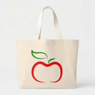 Decorative Apple Jumbo Tote Bag