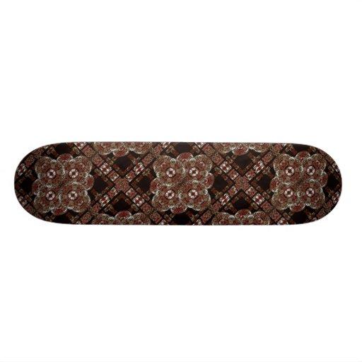 Decorative Arabesque Symbol Skate Decks