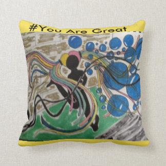 Decorative art Trow Pillow for Little Girls
