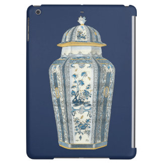 Decorative Asian Urn in Blue & White