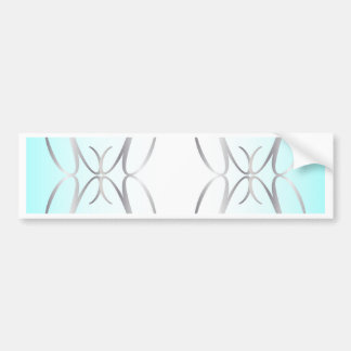 Decorative Background Bumper Sticker