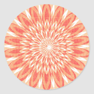 Decorative Blanks Chakra Artistic Texture Labels Round Sticker
