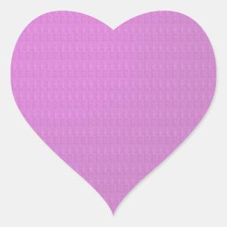 Decorative Blanks Chakra Artistic Texture Labels Heart Sticker