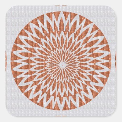Decorative Blanks Chakra Artistic Texture Labels Sticker