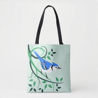 Decorative Blue Jay Bags