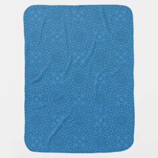 Decorative Blue Vintage Design Baby Blankets