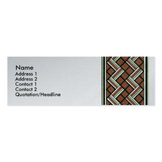 Decorative Border Design ( Owen Jones ) Business Card Templates