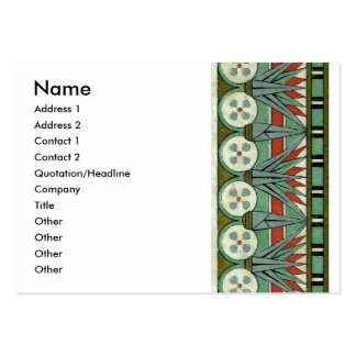 Decorative Border Design ( Owen Jones ) Business Card Template