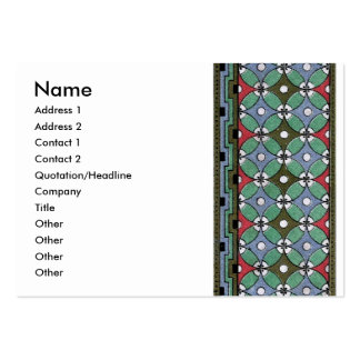 Decorative Border Design ( Owen Jones ) Pack Of Chubby Business Cards