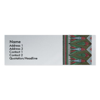 Decorative Border Design ( Owen Jones ) Pack Of Skinny Business Cards