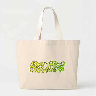 decorative branch jumbo tote bag